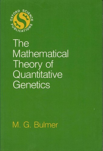 9780198576334: The Mathematical Theory of Quantitative Genetics (Oxford science publications)