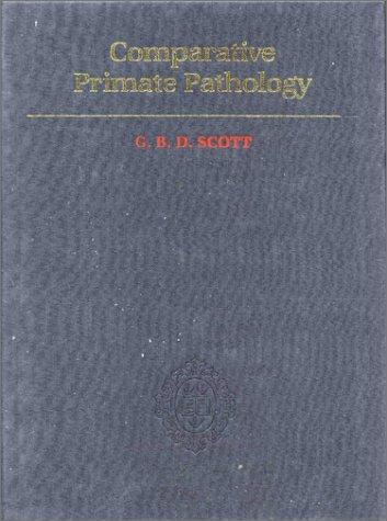 9780198576402: Comparative Primate Pathology
