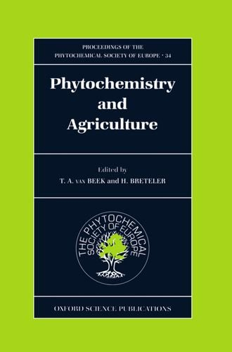 Proceedings Of The Phytochemical Society Of Europe: Phytochemistry And Agriculture.