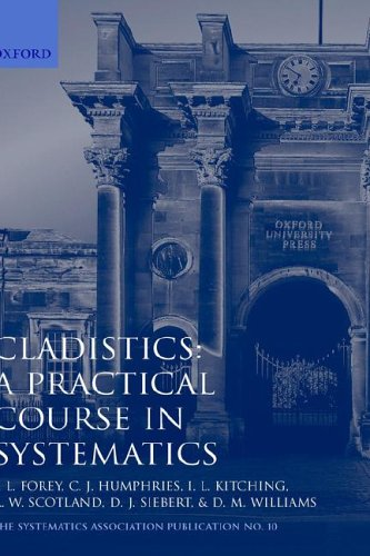9780198577669: Cladistics: A Practical Course in Systematics (Systematics Association Special Volumes)