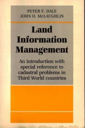 Land Information Management: An Introduction with Special: Peter F. Dale