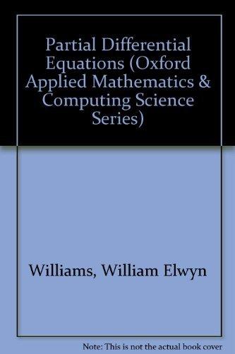 Partial Differential Equations: Williams, W.E.
