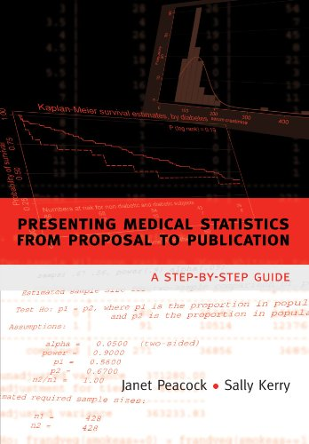 9780198599661: Presenting medical statistics from proposal to publication: A step-by-step guide (Oxford Medical Publications)