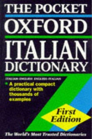 9780198600077: The Pocket Oxford Italian Dictionary