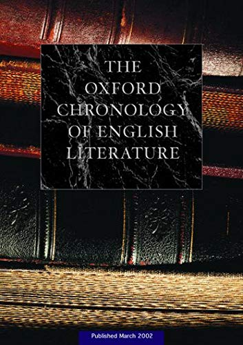 9780198600268: The Oxford Chronology of English Literature: Two Volume Set