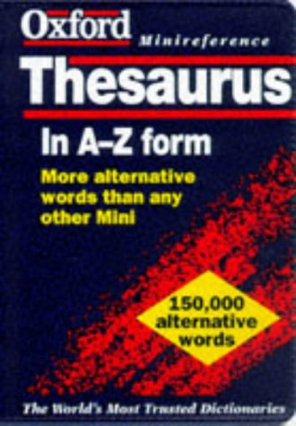 9780198600961: The Oxford Minireference Thesaurus