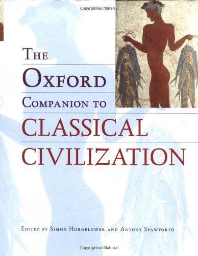 9780198601654: The Oxford Companion to Classical Civilisation