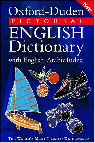 9780198602019: Oxford-Duden Pictorial English Dictionary with Arabic Index