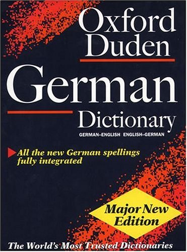 9780198602262: The Oxford-Duden German Dictionary: German-English, English-German