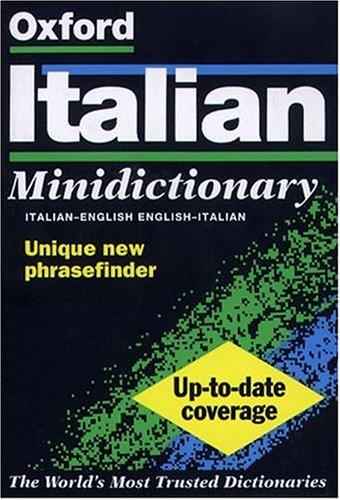 9780198602538: The Oxford Italian Minidictionary