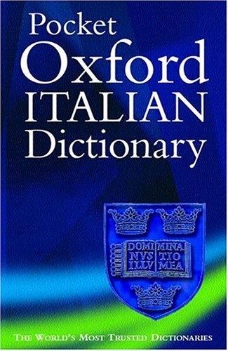 9780198602828: Oxford Italian Dictionary