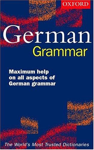 9780198603429: Oxford Easy German Grammar