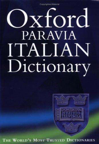 9780198604372: Oxford-Paravia Italian Dictionary