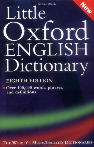 9780198604525: Little Oxford English Dictionary