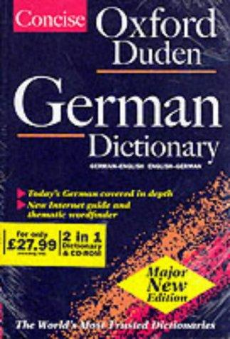 9780198604648: Concise Oxford-Duden German Dictionary: English-German, German-English