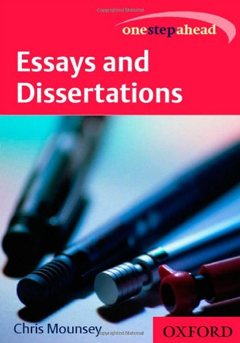 9780198605058: Essays and Dissertations (One Step Ahead)