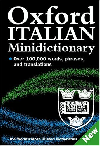 9780198605447: Oxford Italian Minidictionary