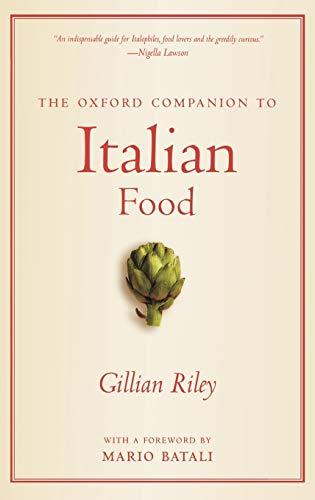 9780198606178: The Oxford Companion to Italian Food