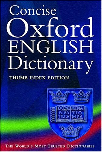 9780198606369: Concise Oxford English Dictionary: Thumb Edition