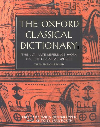 9780198606413: The Oxford Classical Dictionary 3/e revised