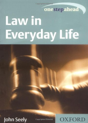 9780198606741: Law in Everyday Life (One Step Ahead)