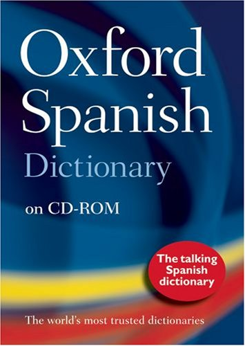 9780198606833: Oxford Spanish Dictionary 3rd edition on CD-ROM: Windows Individual User Version 2.0