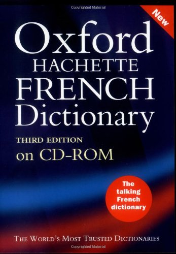 9780198606857: The Oxford-Hachette French Dictionary (CD-Rom)