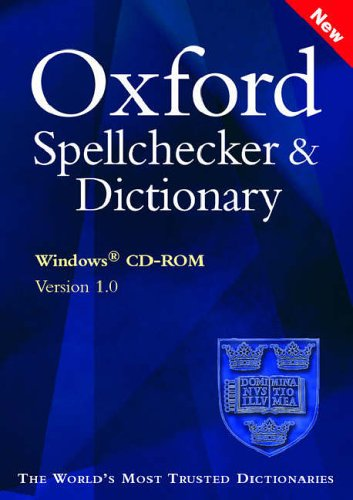 9780198606970: Oxford Spellchecker and Dictionary: Windows Only