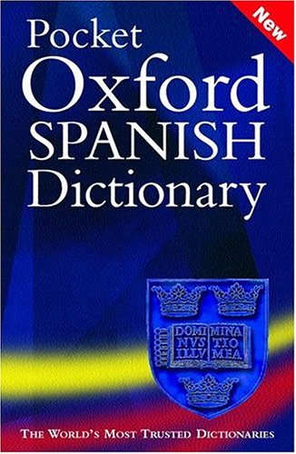 9780198607069: Pocket Oxford Spanish Dictionary