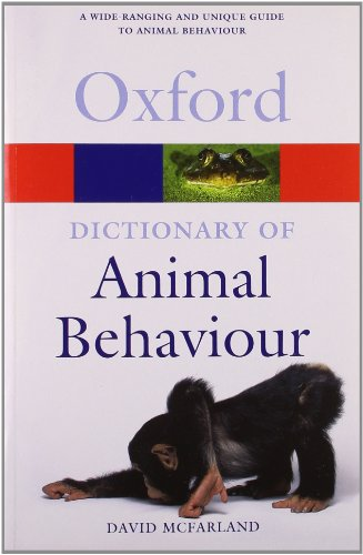 9780198607212: Dictionary of Animal Behaviour (Oxford Quick Reference)