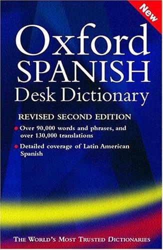 9780198607236: Oxford Spanish Desk Dictionary: Spanish-English, English- Spanish