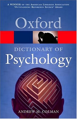 9780198607618: A Dictionary of Psychology (Oxford Quick Reference)