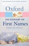 9780198607649: A Dictionary of First Names (Oxford Quick Reference)