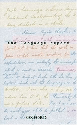 9780198608608: The Language Report