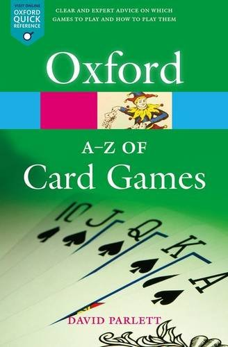 9780198608707: The A-Z of Card Games (Oxford Quick Reference)