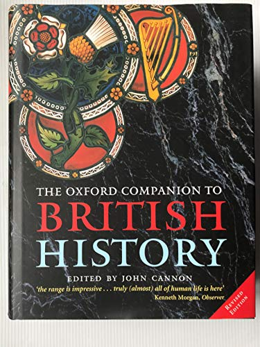 9780198608721: The Oxford Companion to British History