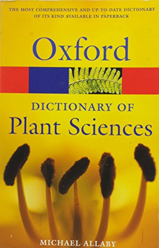 9780198608769: A Dictionary of Plant Sciences (Oxford Quick Reference)
