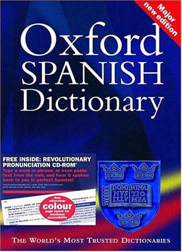 9780198608783: Oxford Spanish Dictionary (Book & CD-ROM)