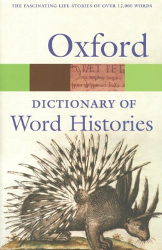 9780198608936: The Oxford Dictionary of Word Histories (Oxford Quick Reference)
