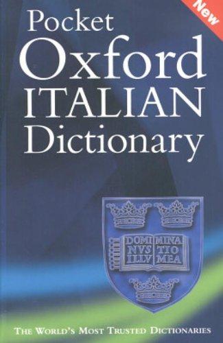 9780198608967: Pocket Oxford Italian Dictionary