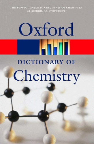 9780198609186: A Dictionary of Chemistry (Oxford Paperback Reference)