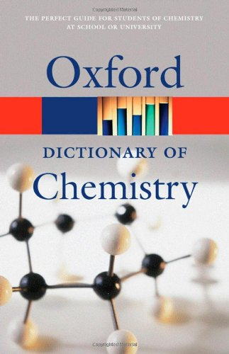 9780198609186: A Dictionary of Chemistry (Oxford Quick Reference)