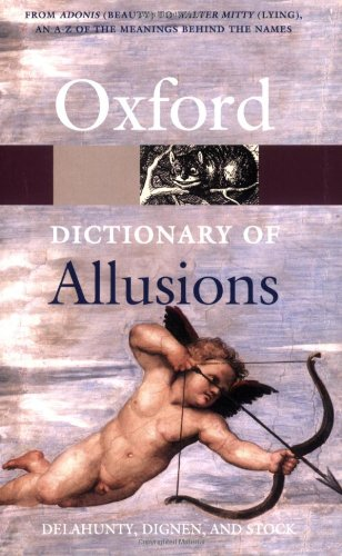9780198609193: The Oxford Dictionary of Allusions (Oxford Quick Reference)