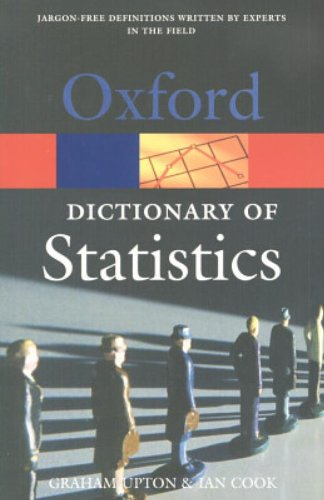 9780198609506: A Dictionary of Statistics (Oxford Quick Reference)