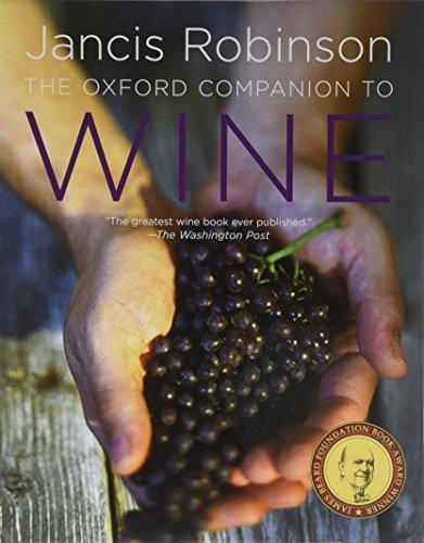 9780198609902: The Oxford Companion to Wine