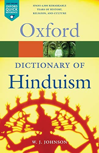 9780198610267: A Dictionary of Hinduism (Oxford Quick Reference)