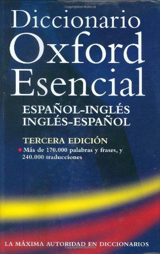 9780198610274: Diccionario Oxford Esencial: Spanish-English, English-Spanish