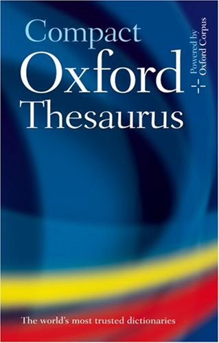9780198610304: Oxford Compact Thesaurus