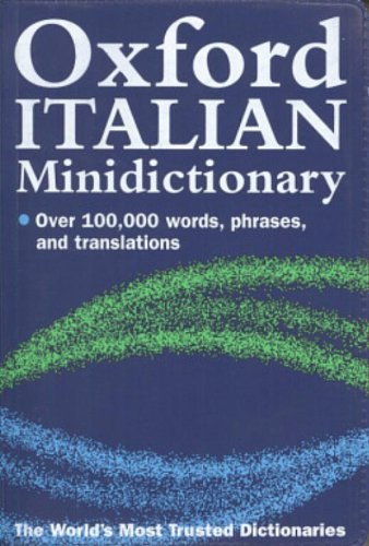 9780198610427: Oxford Italian Minidictionary