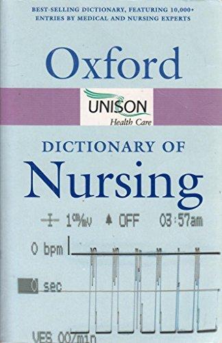 9780198610670: Dictionary of Nursing